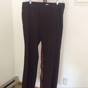 GAP Stretch brown dress pants size 10 long